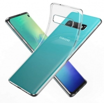 Galaxy S10 (SM-G973F) : Coque transparente souple TPU silicone