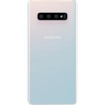 Capot arrière Galaxy S10+ blanc prisme, pièce détachée GH82-18406F