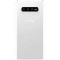 Vitre arrière Galaxy S10+ Blanc céramique, pièce Samsung GH82-18867B