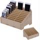 présentoir de rangement en bois pour smartphones