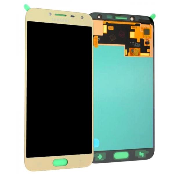 Acheter vitre écran Galaxy J4 J400 Or, pièce détachée GH97-22084B