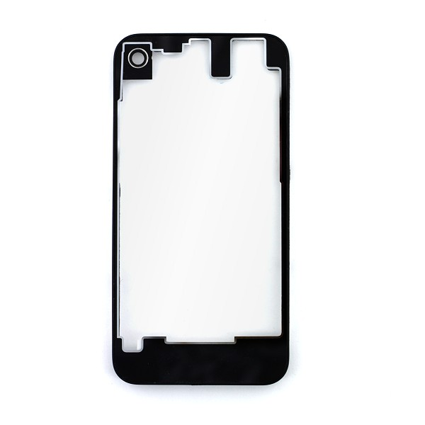 vitre arri re noire et transparente pour iphone 4s apple. Black Bedroom Furniture Sets. Home Design Ideas