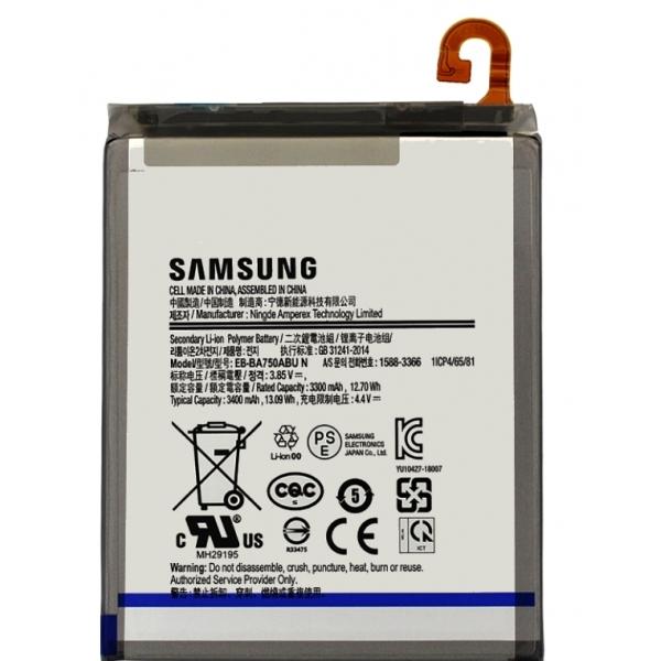 Vente batterie Galaxy A10, A7 2018, pièce détachée EB-BA750ABU