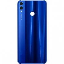 Vitre arrière Honor 8X bleue. Fournisseur pièce rechange 02352EAN