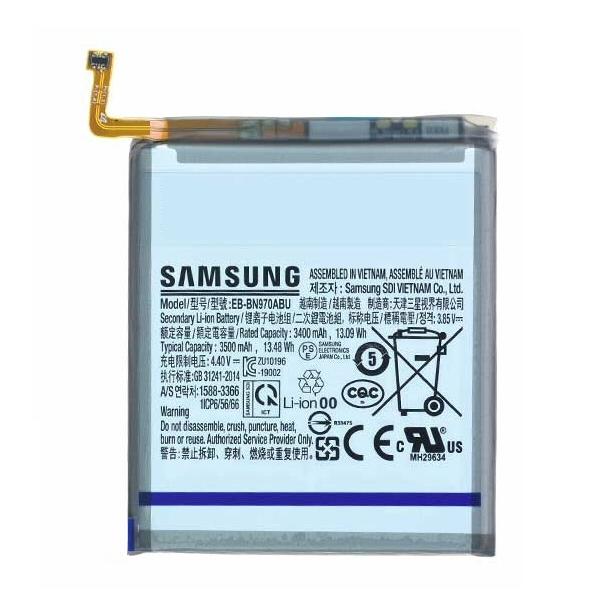 Vente batterie Galaxy Note 10, pièce détachée Samsung EB-BN970ABU