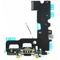 Vente connecteur de charge noir iPhone 7, pièce détachée de rechange