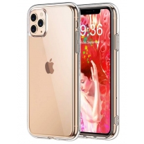 Vente coque tpu iPhone 11 Pro silicone transparente pas cher