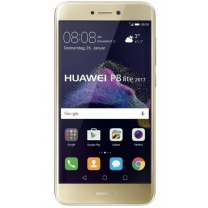 Vente écran vitre Huawei P8 Lite 2017. Or Gold. 02351DNF / 02351VBR