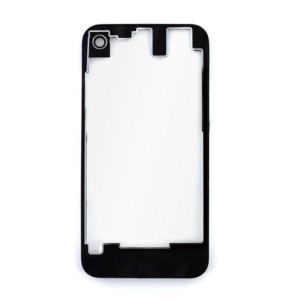 vitre arri re noire et transparente pour iphone 4s apple. Black Bedroom Furniture Sets. Home Design Ideas