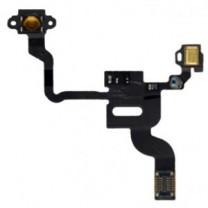 iPhone 4 : Nappe power + capteur de proximité + micro haut - pièce détachée