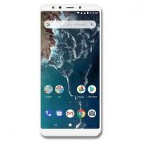 Vitre tactile écran Xiaomi Mi A2 blanc. Pièce de réparation