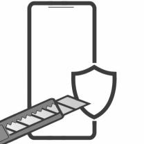 Galaxy A8 2018 (SM-A530F) : verre trempé avant de protection