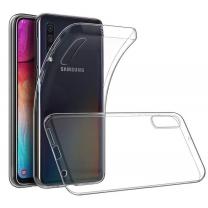 Vente coque Galaxy A70 transparente, protection en TPU silicone