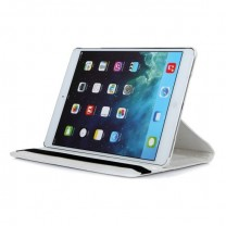iPad Air : Etui simili cuir blanc 360°