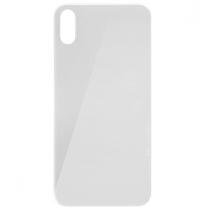 Vitre arrière iPhone XS blanche, pièce de rechange de vitre cassée