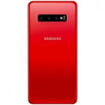 Vitre arrière Galaxy S10 rouge, pièce détachée Samsung