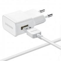 Chargeur secteur + câble original Samsung micro Usb 2A Blanc