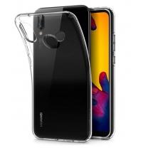 Coque silicone TPU Huawei P20 Lite, transparente