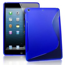 iPad Air : Etui gel bleu type S