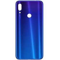 Vitre arrière Xiaomi Redmi Note 7 bleue