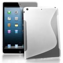 Fournisseur iPad Air : Etui gel gris type S