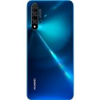 Vitre arrière Huawei Nova 5T Bleue