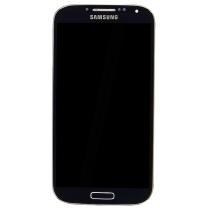 Ecran vitre Galaxy S4 4G i9505 noir Samsung. Vente pièce détachée