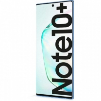 Vitre écran Note 10+ Bleu