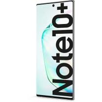 Vitre tactile écran Note 10+ Argent Blanc