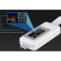 Testeur de charge USB-C téléphone Android