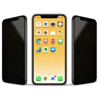Verre trempé iPhone X / XS / 11 Pro anti espion