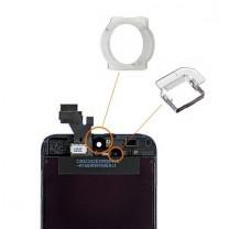 iPhone 5/5S : Bague Caméra avant et support capteur de proximité