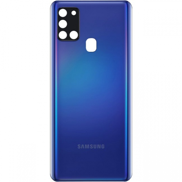 Coque arrière Galaxy A21S Bleu