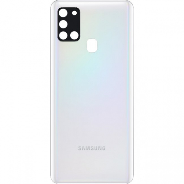 Cache arrière Galaxy A21S blanc