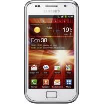 Ecran complet blanc Vitre Tactile LCD Galaxy S Plus GT-I9001