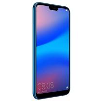 Vitre écran Huawei P20 lite bleu avec châssis