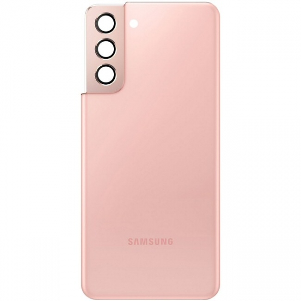 Capot arrière rose Galaxy S21 5G. Officiel Samsung