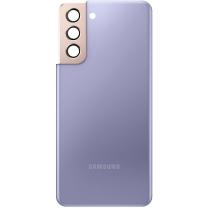 Capot arrière violet Galaxy S21 5G. Officiel Samsung