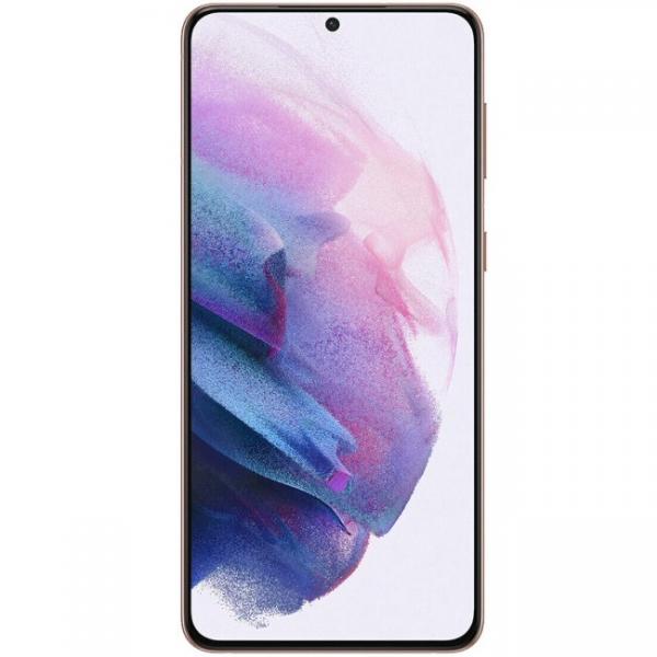 Vitre écran Galaxy S21+ 5G (G996) Violet, Origine Samsung