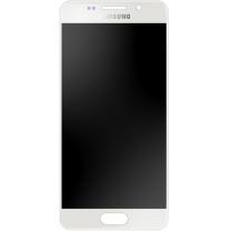 Vitre écran Amoled d'origine Galaxy A5 2016 Blanc