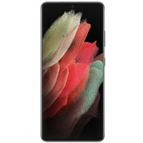 Vitre écran châssis Galaxy S21 Ultra 5G Noir. Officiel Samsung