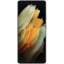 Vitre écran châssis batterie Galaxy S21 Ultra 5G Argent. Officiel Samsung