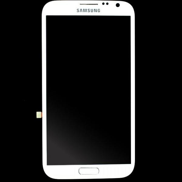 Samsung Galaxy Note 2 N7100 : Ecran complet blanc - pièce détachée