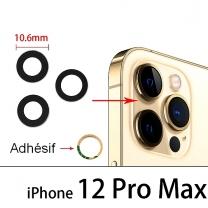 Lot 3 Lentilles iPhone 12 Pro Max