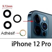 Lot 3 Lentilles iPhone 12 Pro