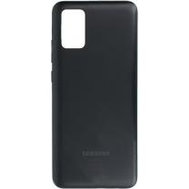 Coque arrière Noire Galaxy A02S. Officiel Samsung
