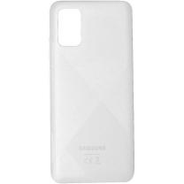 Coque arrière Blanche Galaxy A02S. Officiel Samsung