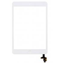 iPad mini / mini 2 : Vitre tactile complète, blanc