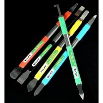 Lot de 5 spatules métalliques