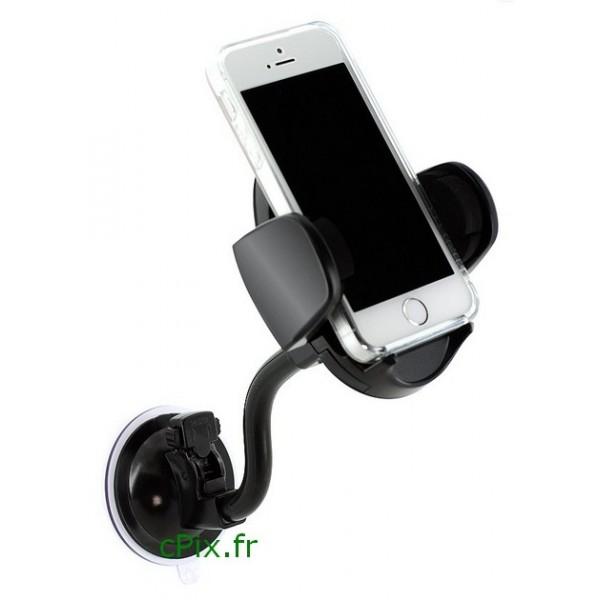 Support smartphone universel pour voiture et l'utilisation du mode GPS